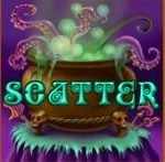 Wild Witches casino slot game - scatter symbol