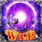Wild symbol of Witch Pickings casino free slot game