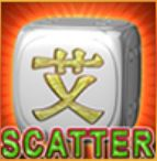 Scatter-Symbol des kostenlosen 5 Hot Dice Online-Spielautomaten