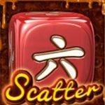 Symbol Scattera - darmowa maszyna do gier Caramel Dice