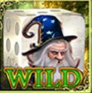 Simbol Wild în joc ca la aparate gratis Dice of Magic
