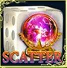 Scatter szimbólum a Dice of Magic online ingyenes játékból