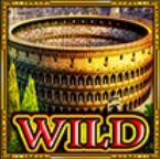 Comodín de la tragamonedas de casino Lendary Rome