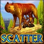 Scatter del juego de tragaperras online gratis Legendary Rome