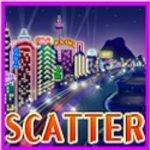 Symbol Scattera zautomatu do gier bez depozytu