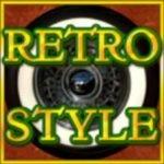 Scatter szimbólum képe a Retro Style nyerőgépes játékból