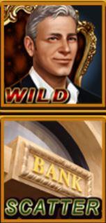 Símbolos especiales del juego de tragamonedas online Rich World