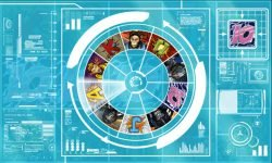 Wheel of Fortune of casino slot game Monkeys of the Universe