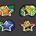 Star Symbols of online slot game Random Runner