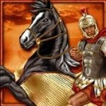 Symbol scatter of online free game Roman Legion Extreme