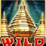 Wild symbol of Thai Temple casino slot machine