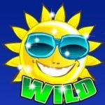 Wild symbol of Beach Life online game