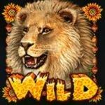 Wild symbol of Happy Jungle casino slot game