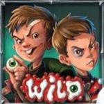 Wild symbol of Dracula´s Family casino slot