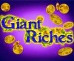 Casino free game Giant Riches - wild symbol