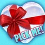 Pick-me symbol of Valentine´s Victory online free game