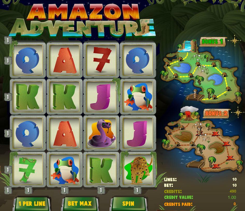 Casino free slot game Amazon Adventure