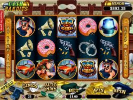 Cash Bandits online slot machine for fun