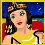 Symbol wild of Cleopatra´s Gold slot game