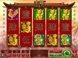 A picture of casino game Feng Fu