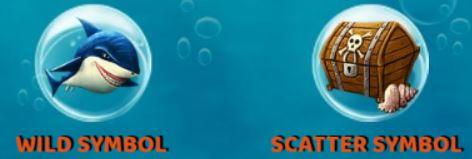 Bonus symbols of Ocean Reef casino free game