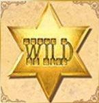 Wild symbol of Cowboy Treasure casino free game