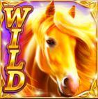 Wild symbol of Golden Mane casino slot machine