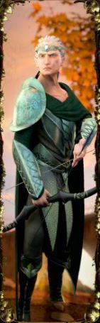Symbol wild of Orc vs Elf
