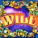 Wild symbol of free slot machine Theatre of Night