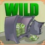 Wild symbol of online free game Dallas Dollars