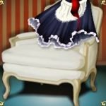 Symbol scatter of French Maid casino online game