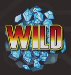 Wild symbol of online free slot game Firestar