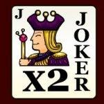Symbol wild of online slot game Poker Mania