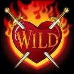 Wild symbol of slot machine Robin Hood