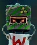 Robo Smash online free slot game - wild symbol