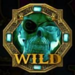 Wild symbol of Skulls of Legend online slot machine