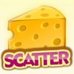 Scatter symbol - Mouse and Cat free online slot machine