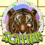 Scatter symbol of free slot machine Oriental Tiger