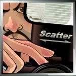 Scatter symbol of Paparazzi online slot game