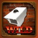 Sticky wild symbol of The Great Art Robbery casino slot