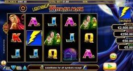 Casino slot game Lightning Horseman for fun