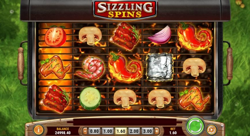 Slot machine for fun Sizzling Spins no deposit