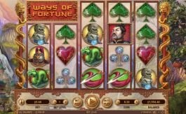 Play online free game Ways of Fortune