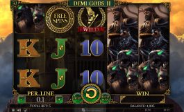 Demi Gods II free online slot machine no deposit