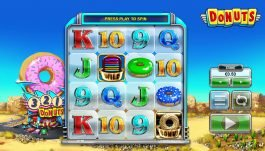 Play free online slot game Donuts