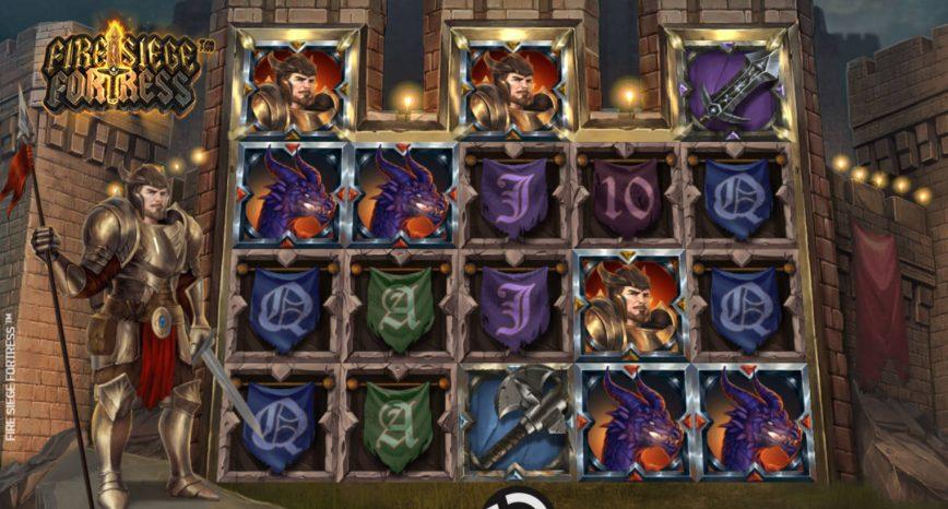 Online slot machine Fire Siege Fortress no deposit
