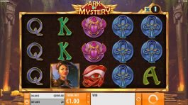 Free five reel slot Ark of Mystery