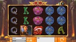 Free five reel slot Ark of Mystery