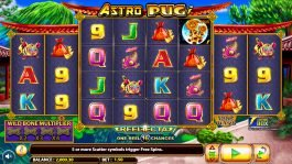Internet casino slot machine Astro Pug