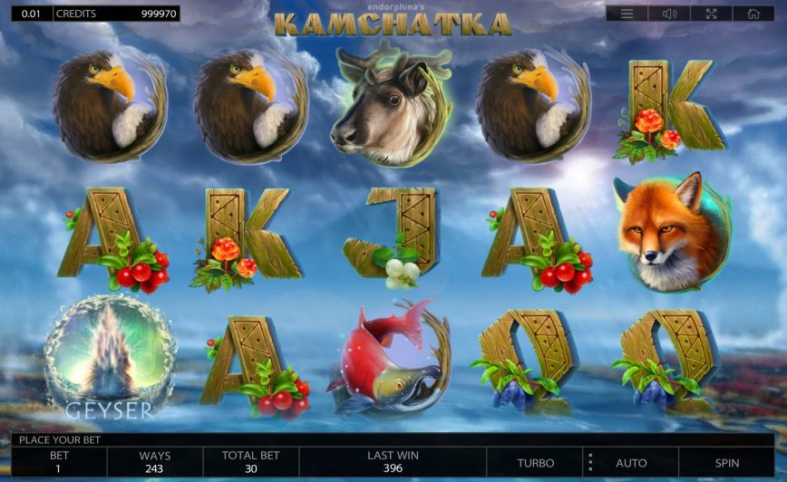 Free video game machine Kamchatka